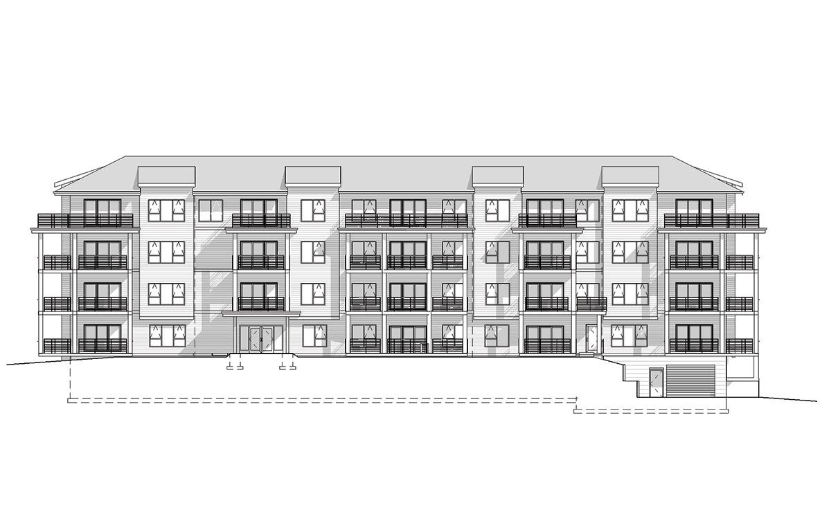 Elevation of Pinehurst Apartments